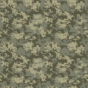 Digital Olive Camouflage