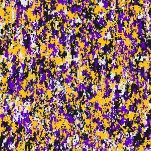Louisiana State University Purple & Yellow Digital Camouflage