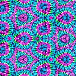 Pink & Blue Tie Dye