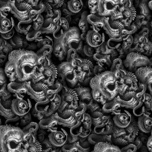 Skulls & Snake 25