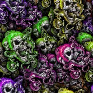 Skulls & Snake 23