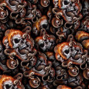 Skulls & Snake 22