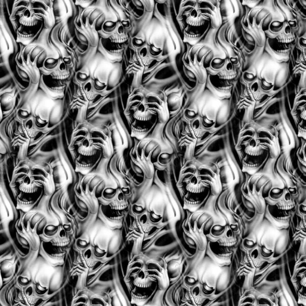 Quiet Flaming Skulls 22