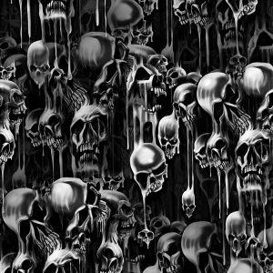 Melting Skulls 24