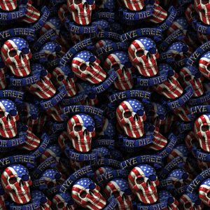 Live Free or Die Skulls 24