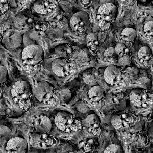 Human Snake Skulls on Fire 23