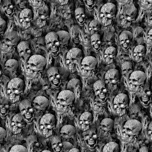 Human Snake Skulls on Fire 22