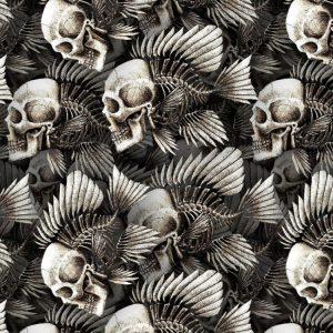 Human Skull Fish