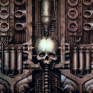 Giger Skull Wall