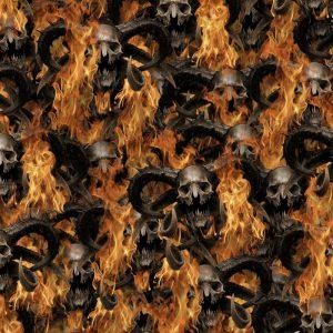 Diablo Fire Skulls