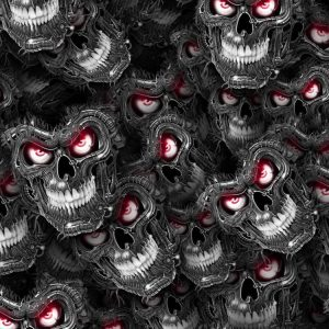 Bad Ass Skulls 24