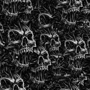 Angry Spike Skulls 22