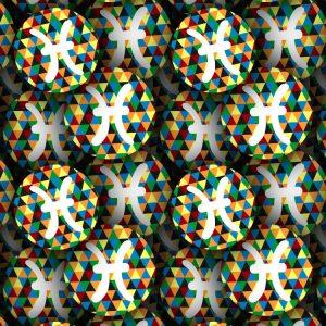 Pisces Mosaic 22