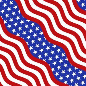 Wavy US Stripes 23