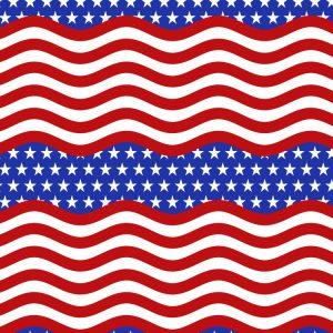 Wavy US Stripes 22