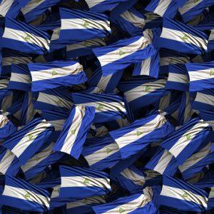 Nicaragua Waving Flag