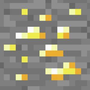 Minecraft Gold Ore