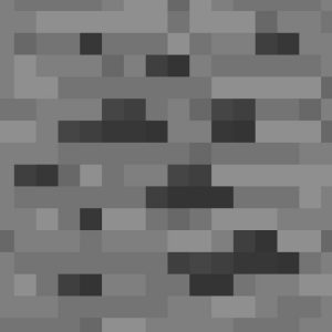 Minecraft Coal Ore