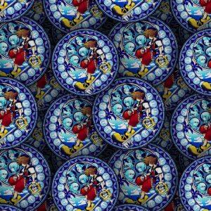 Kingdom Hearts Stained Glass Sora