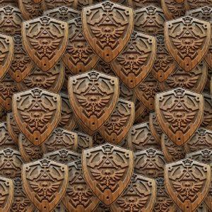 Zelda Hylian Shield 23