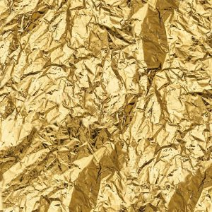 Crumpled Gold