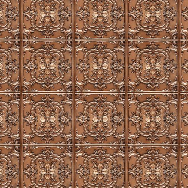 Embossed Copper Panels