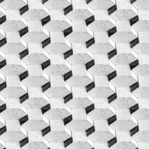 Hex Concrete Wall