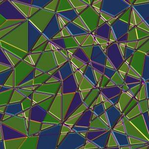 Shattered Glass Tile