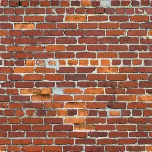 Patched Brick Wall