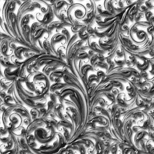 Royal Silver Filagree