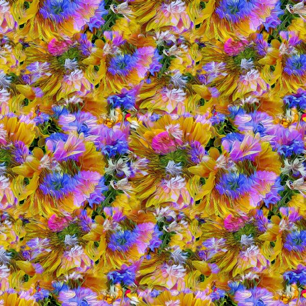 Abstract Flowers 24