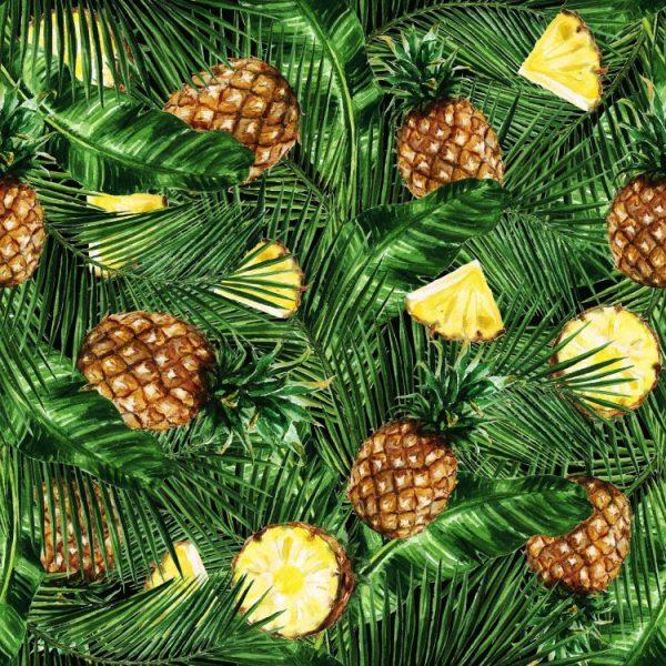 Watercolor Pineapple 22