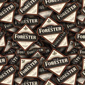 Old Forester Label