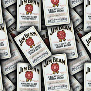 Jim Beam Label