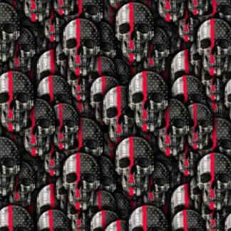Thin Red Line Skull 22