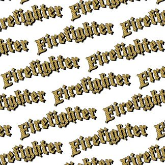 Firefighter Engine Turned Gold 24