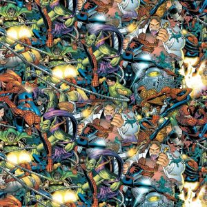 Marvel Characters Fighting 23