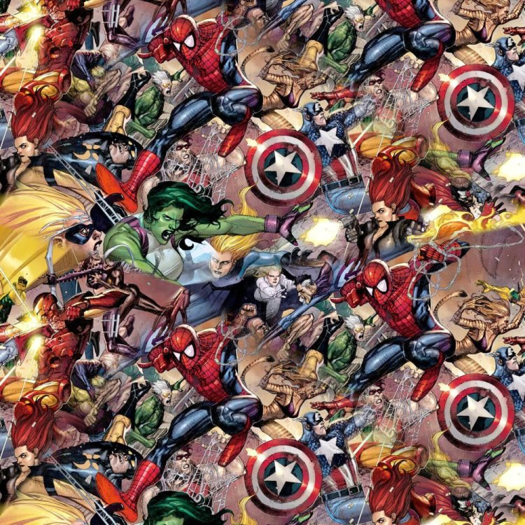 Marvel Characters Fighting 22