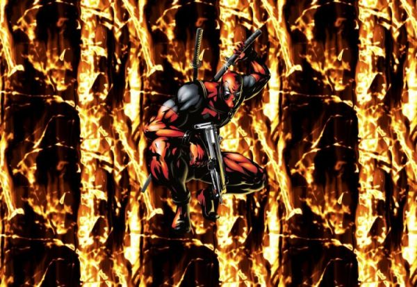 Deadpool 25 11x16