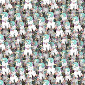 Cartoon Unicorns 22