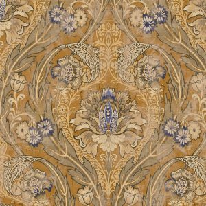 Distressed Aged Damask