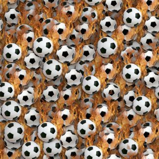 Soccer Balls on Fire