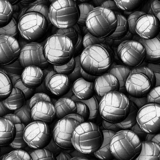 Metal Volleyballs