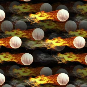 Flaming Golf Balls 22