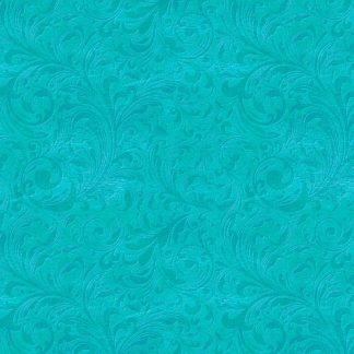 Tooled Leather Turquoise