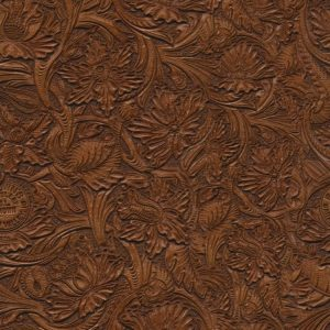 Tooled Leather 24 Varnished