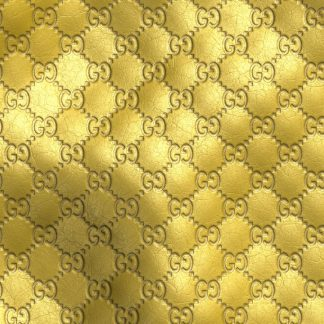 Gucci Gold Embossed