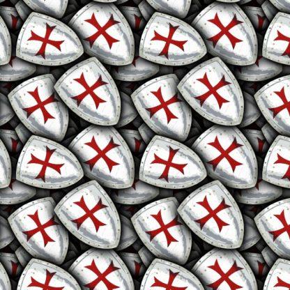 Knights Templar Shield 22