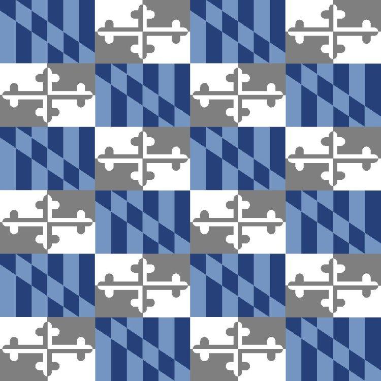 Maryland Flag Blue