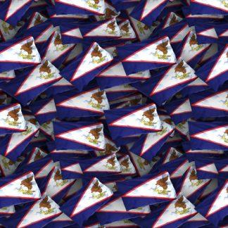 America Somoa US Territory Flag